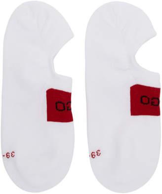 HUGO Two-Pack White Logo Socks