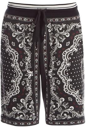 Dolce & Gabbana Bandana-Print Shorts