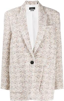 Isabel Marant Kindan knitted blazer