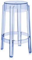 Kartell Charles Ghost Stool - Light Blue - 65cm