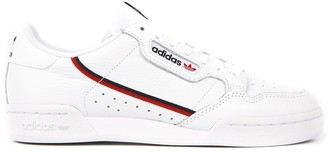 adidas White Continental Faux Leather Sneaker