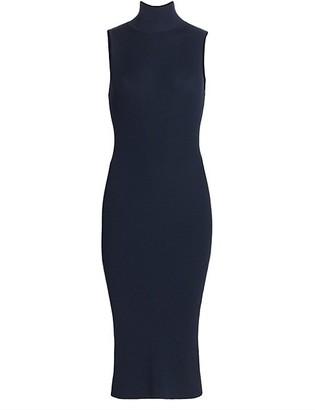 L'Agence Mina Turtleneck Knit Bodycon Dress