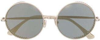Jimmy Choo Goldys round-frame sunglasses