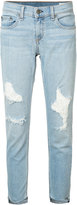 Rag & Bone Marina ripped skinny jeans - women - Cotton/Polyurethane - 26