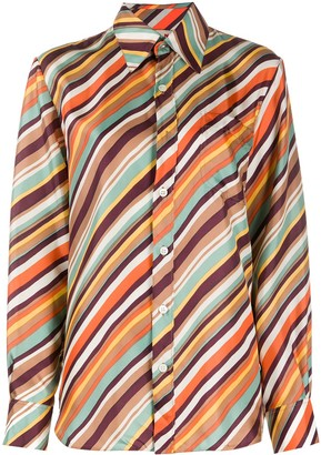 Marni Striped Button-Front Shirt