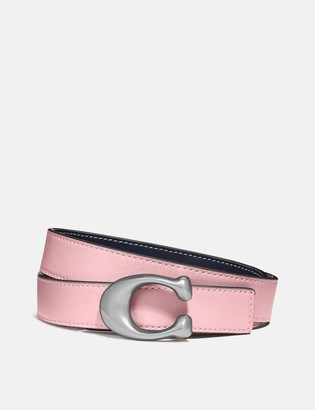 Coach Signature Buckle Reversible Belt, 25Mm