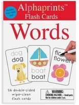Macmillan Alphaprints Wipe Clean Flash Cards Words