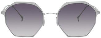 Issey Miyake Green Octagon 7 Sunglasses