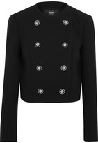 Versus Versace - Double-breasted Cady Jacket - Black