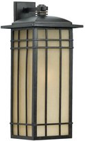 Quoizel HCE8411IB Hillcrest 25 1/2-Inch Large Wall Lantern with Opaque Linen ...