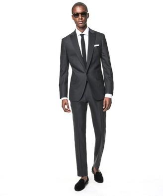 Todd Snyder Black Label Sutton Fit Peak Lapel Tuxedo Jacket in Grey Wool