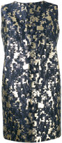 Gianluca Capannolo sleeveless jacquard dress - women - Cotton/Polyamide/Polyester/Metallized Polyester - 42