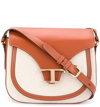 Tod's panelled satchel bag