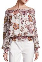 Tory Burch Indie Silk Top