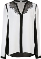Elie Tahari colour block blouse