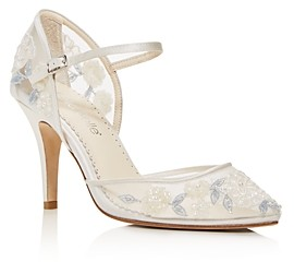 Bella Belle Women's Viola Embellished Mary-Jane Pumps