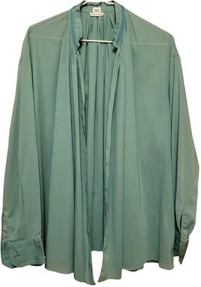 Hermes Green Cotton Tops