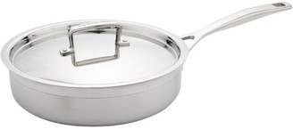 Le Creuset 3-Ply Stainless Steel Saute Pan (24Cm)