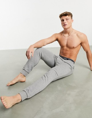 Jack and Jones lounge co-ord pants in grey
