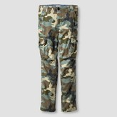 Cat & Jack Boys' Slim Fit Stretch Cargo Pant Cat & Jack - Camo Green