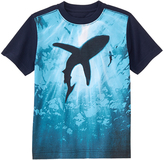 Gymboree Dark Marine Shark Shadow Tee - Boys