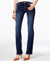 INC International Concepts Petite Curvy Spirit Wash Bootcut Jeans, Only at Macy's