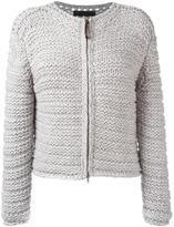 Fabiana Filippi knitted zip cardigan