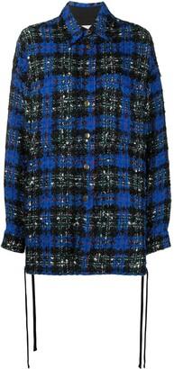 Faith Connexion Textured Knit Shirt