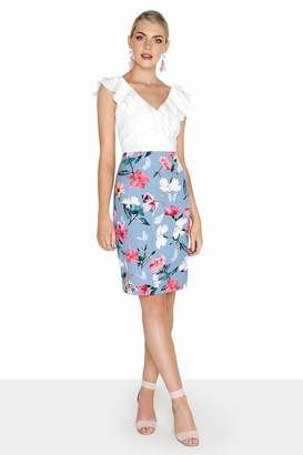 Paper Dolls Outlet Floral 2 In 1 Dress