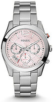 Fossil Perfect Boyfriend Sport Multifunction Stainless Steel Bracelet Watch