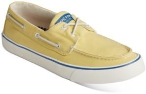 Sperry Men's Bahama Ii Kick Back Canvas Boat Shoes Men's Shoes