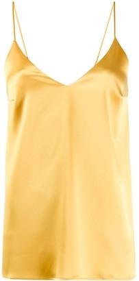 Racil plain V-neck top