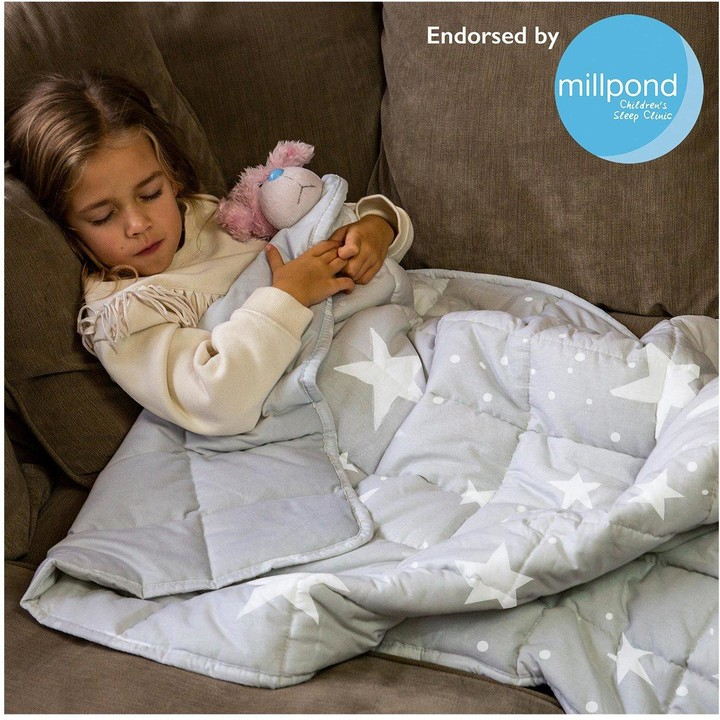 Thumbnail for your product : Rest Easy Sleep Better Star Print Weighted Blanket