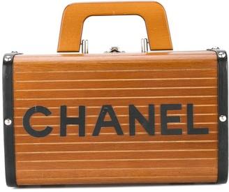 Chanel Pre Owned box vanity bag