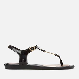 Vivienne Westwood Vivenne Westwood For Melissa for Melissa Women's Solar 21 Toe Post Sandals - Black Orb