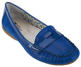 White Mountain Possible Snake Embossed Moccasins