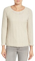 Nic+Zoe 'Pop Top' Scoop Neck Sweater