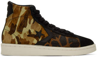 Converse Multicolor Pro Leather Mid Sneakers