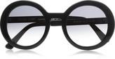 Platony round-frame acetate sunglasses