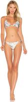 Zimmermann Jasper Ruffle Bikini Set in White. - size 0 / XS (also in )
