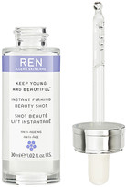 Ren Skincare Keep Young and Beautiful Instant Firming Beauty Shot.