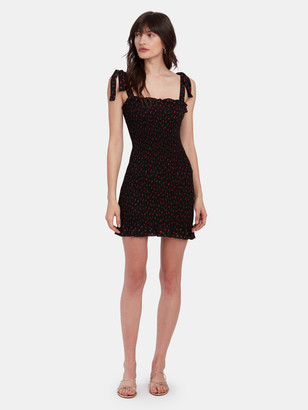 Free People Bella Smock Mini Slip Dress