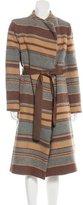 Behnaz Sarafpour Wool Printed Coat