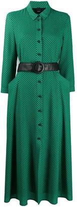 Pinko Polka Dot Shirt Dress