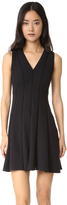 Rebecca Taylor Sleeveless Diamond Textured Dress