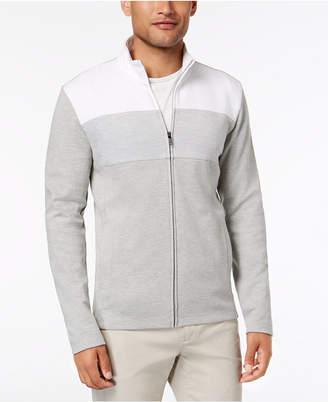Alfani Men Colorblocked Full-Zip Jacket