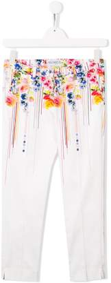 Simonetta TEEN floral print trousers