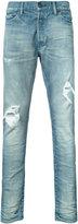John Elliott - distressed denim jeans - men - Cotton/Polyurethane - 30