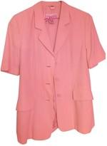 Laurèl Beige Cotton Jacket for Women Vintage