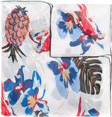 Valentino Garavani Valentino Tropical Dream scarf - women - Silk - One Size